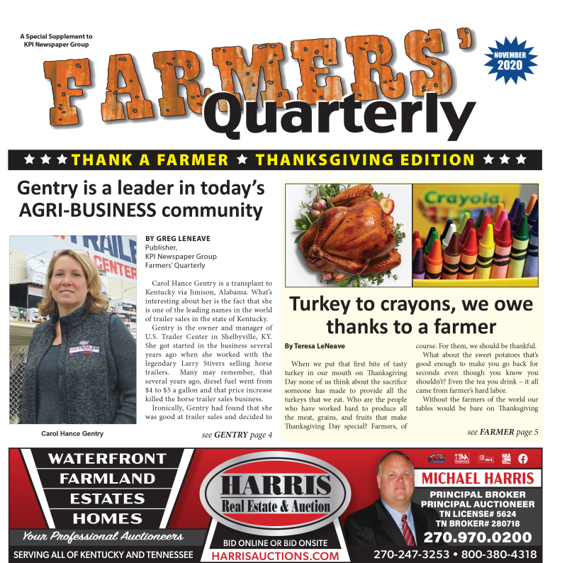 Farmer's Quarterly November 2020