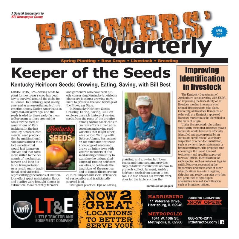 Farmer's Quarterly April 2017