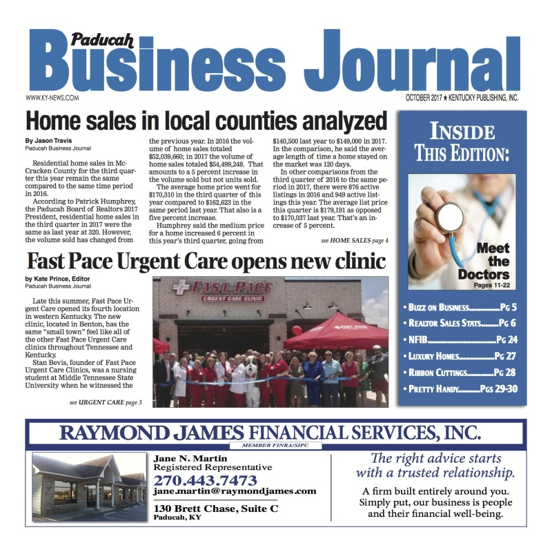 Paducah Business Journal October 2017
