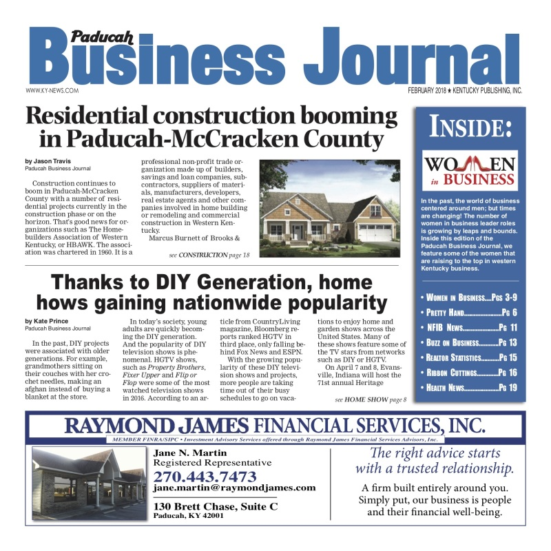 Paducah Business Journal February 2018