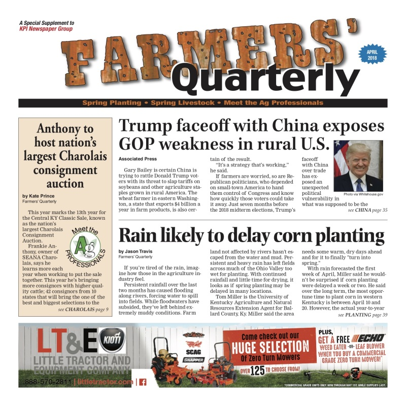Farmers' Quarterly July  2018