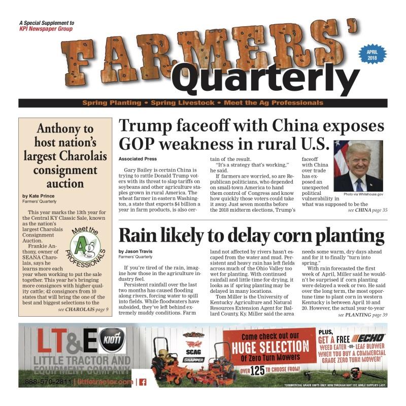 Farmers' Quarterly April 2018