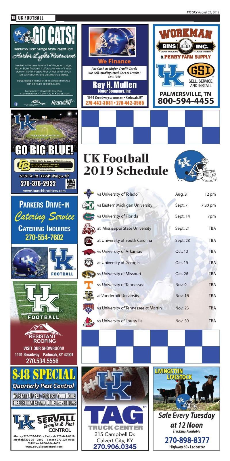 UK Football Calendar
