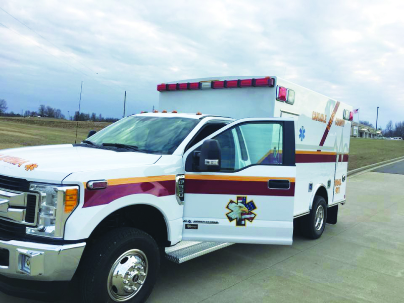 New ambulance arrives in Carlisle County