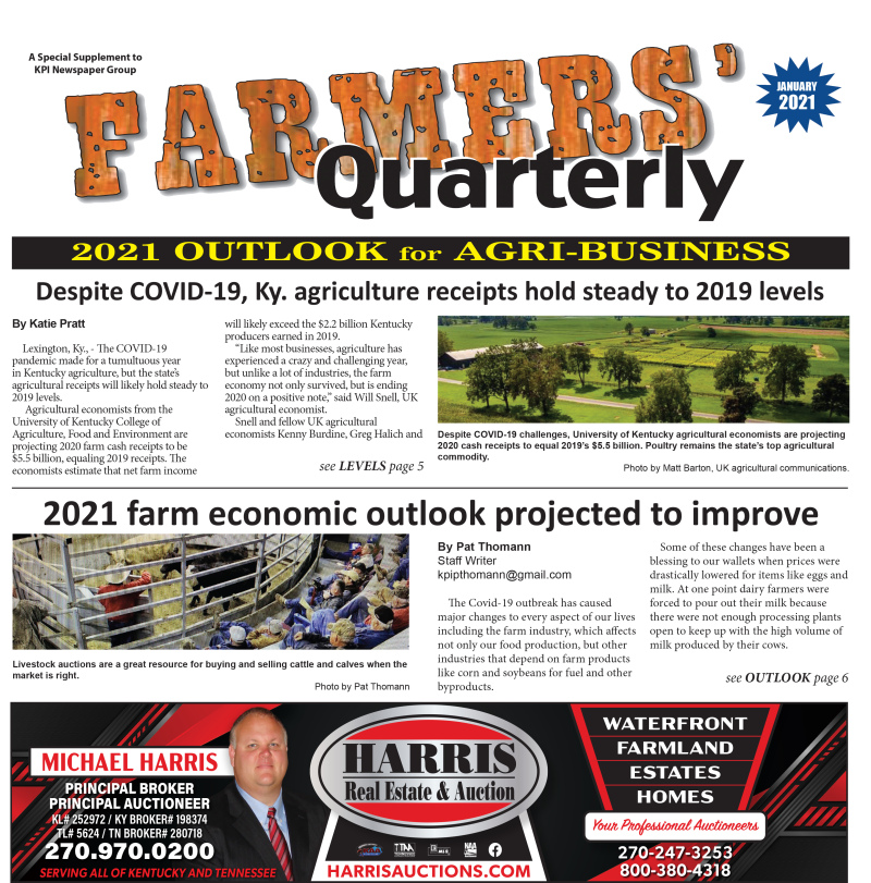Farmers' Quarterly January 2021