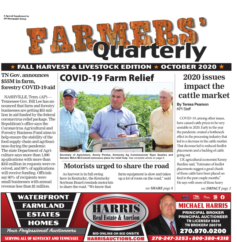 Farmer's Quarterly October 2020