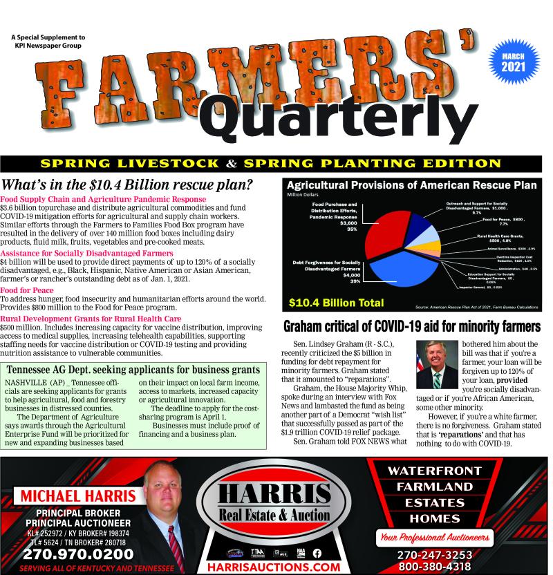 Farmers' Quarterly March 2021