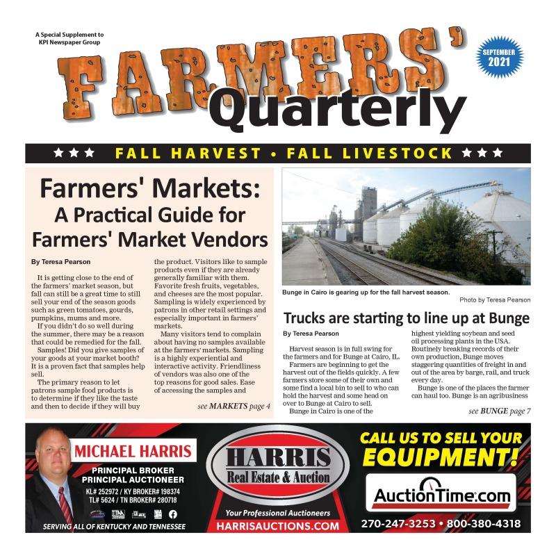 Farmers' Quarterly September 2021