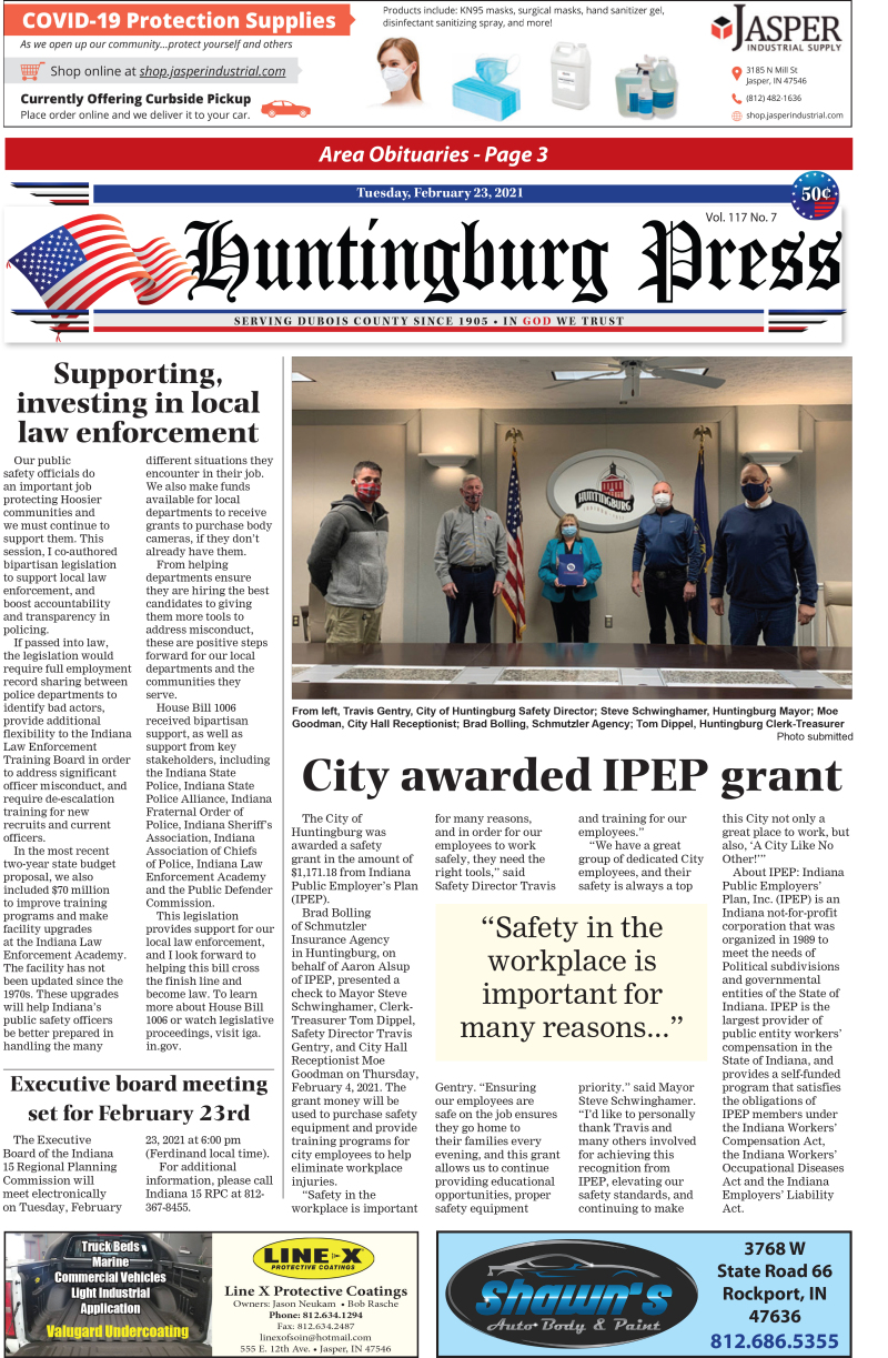 The Huntingburg Press 2-23-21