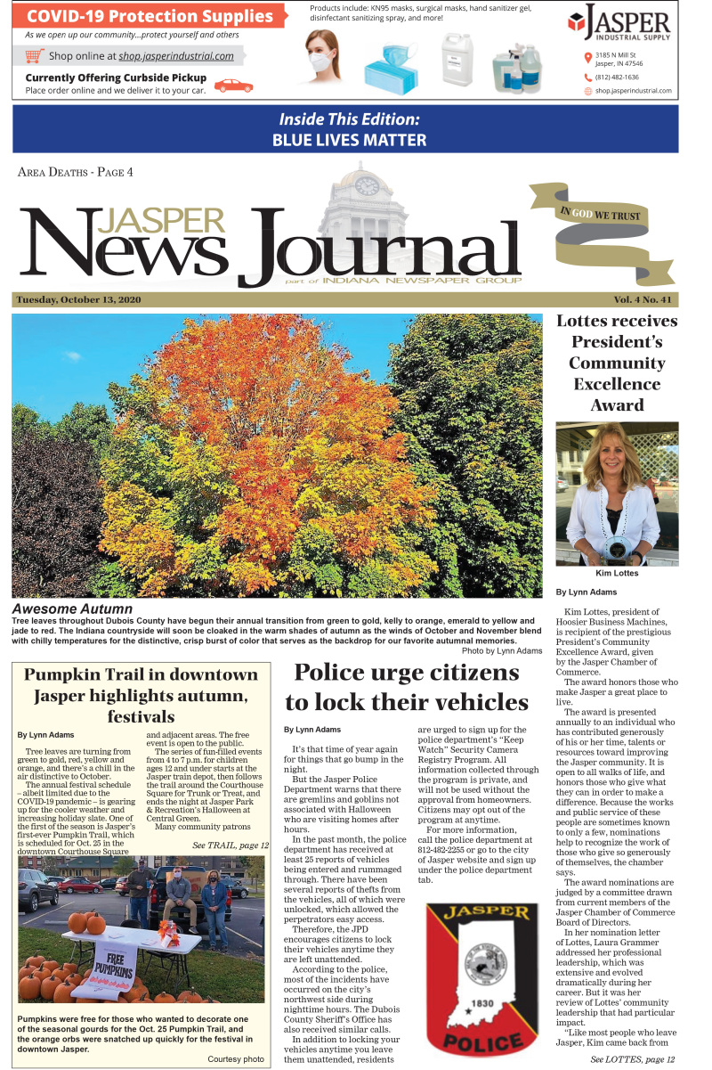 The Jasper News Journal 10-13-20