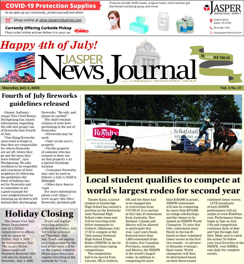 The Jasper News Journal 7-1-20