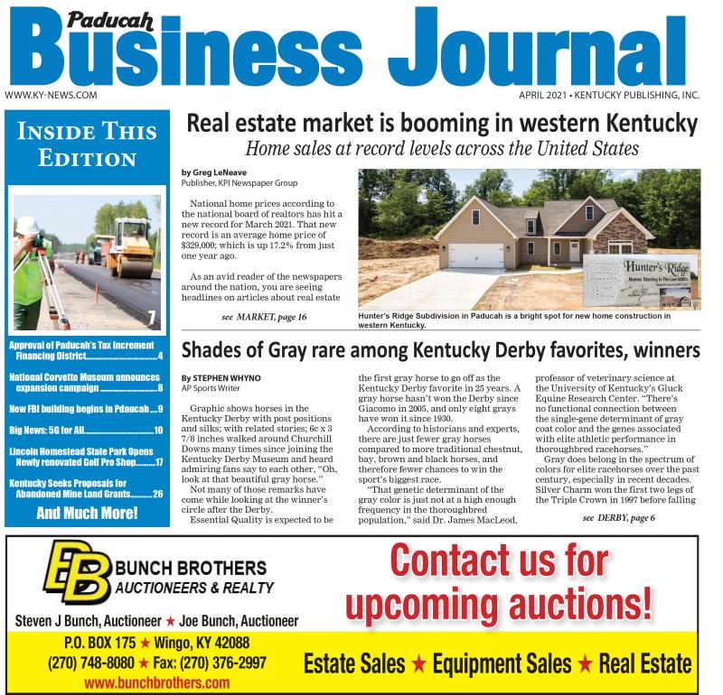 Paducah Business Journal April 2021