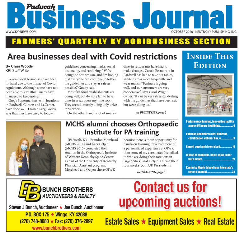 Paducah Business Journal October 2020