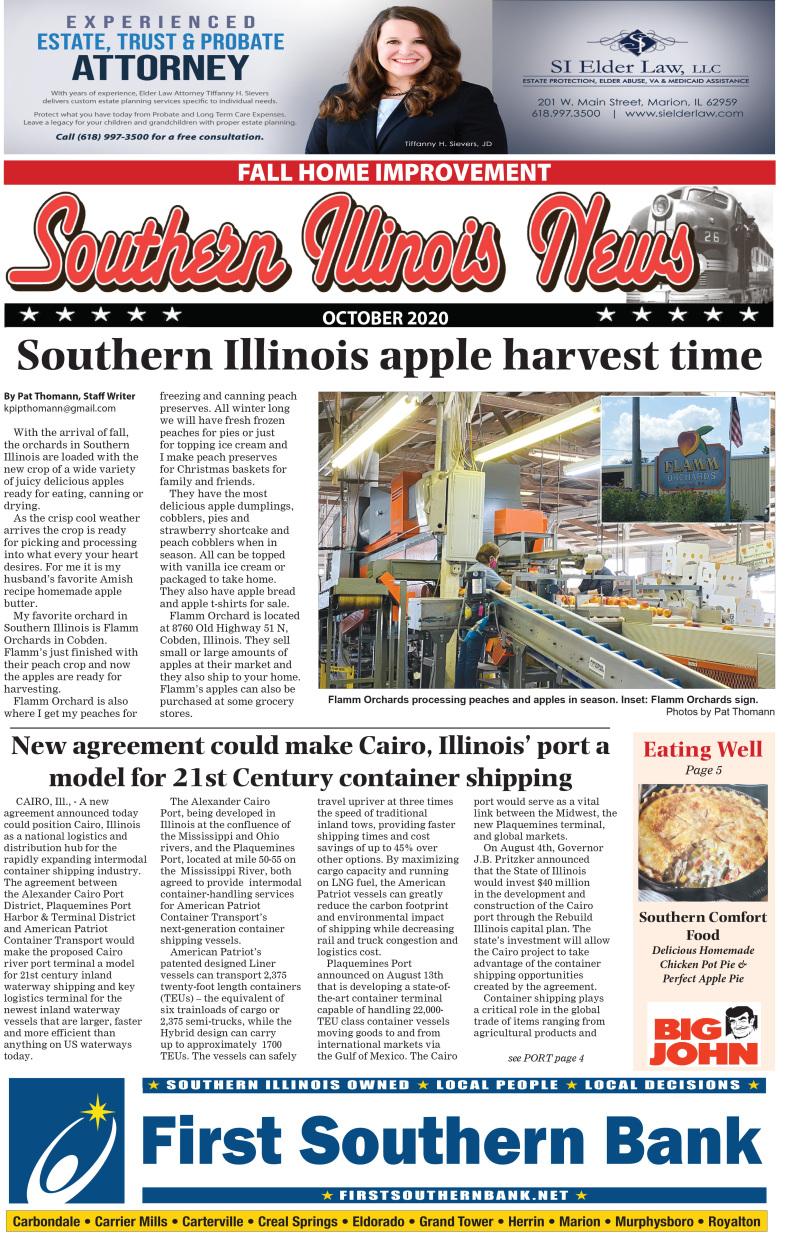 Southern Illinois News Oct 2020