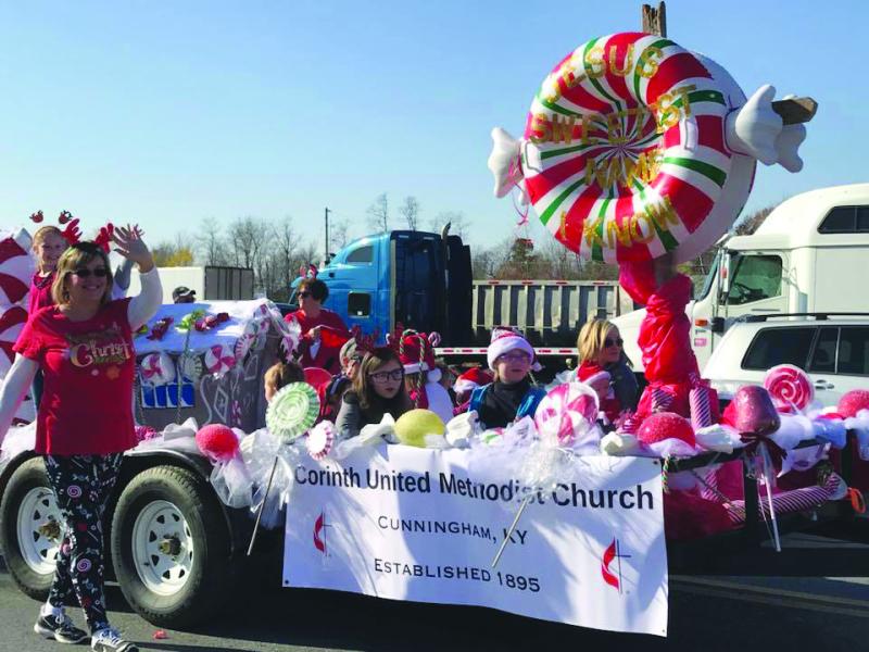 Arlington's Christmas Around the Block Parade a huge success
