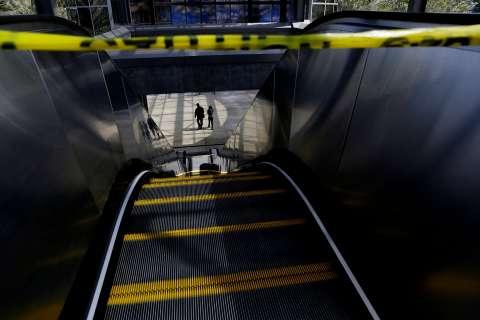 Mexico City subway says pee causes escalator breakdowns