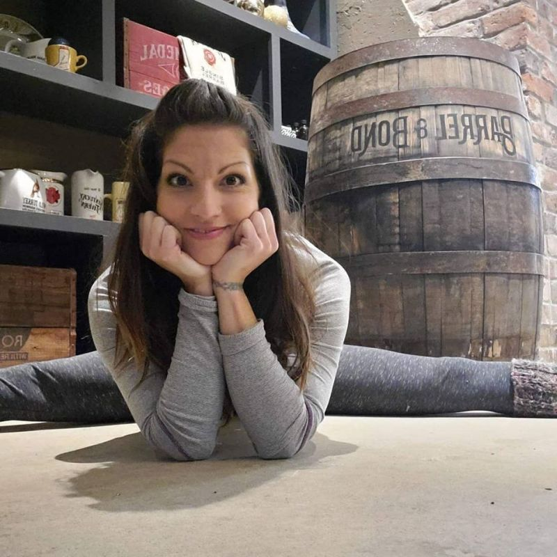 Knock down those walls with Yoga and Bourbon