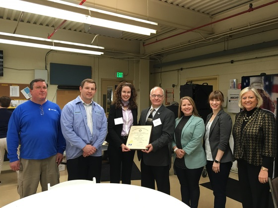 H.B. Fuller in Paducah presented Governor's Safety and Health Award | carlisle county news,disaster relief,volunteer,hours,labor,material,home