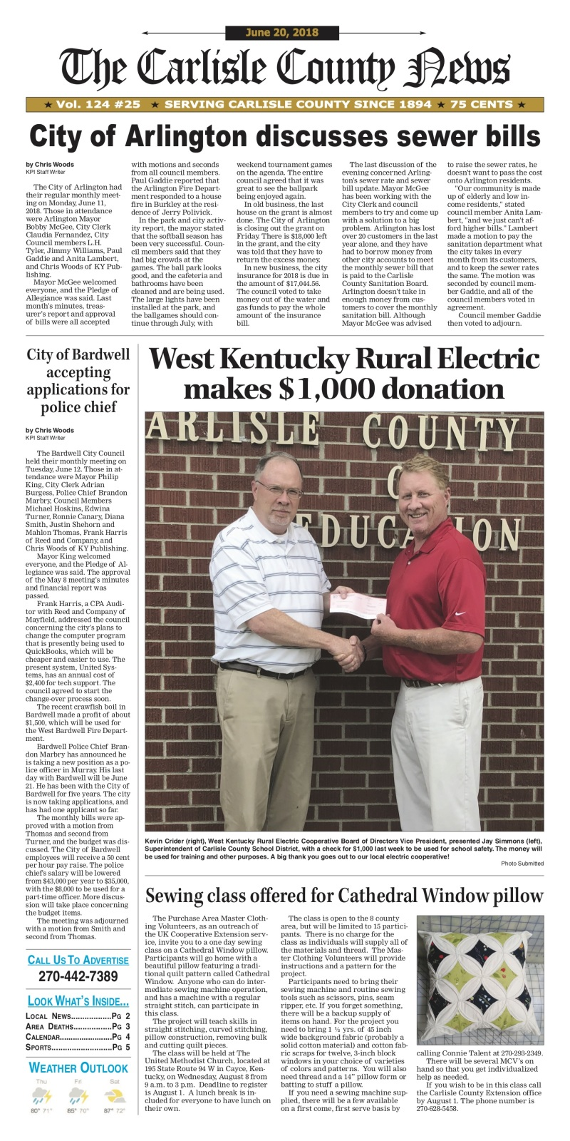 Carlisle County News 6-20-18