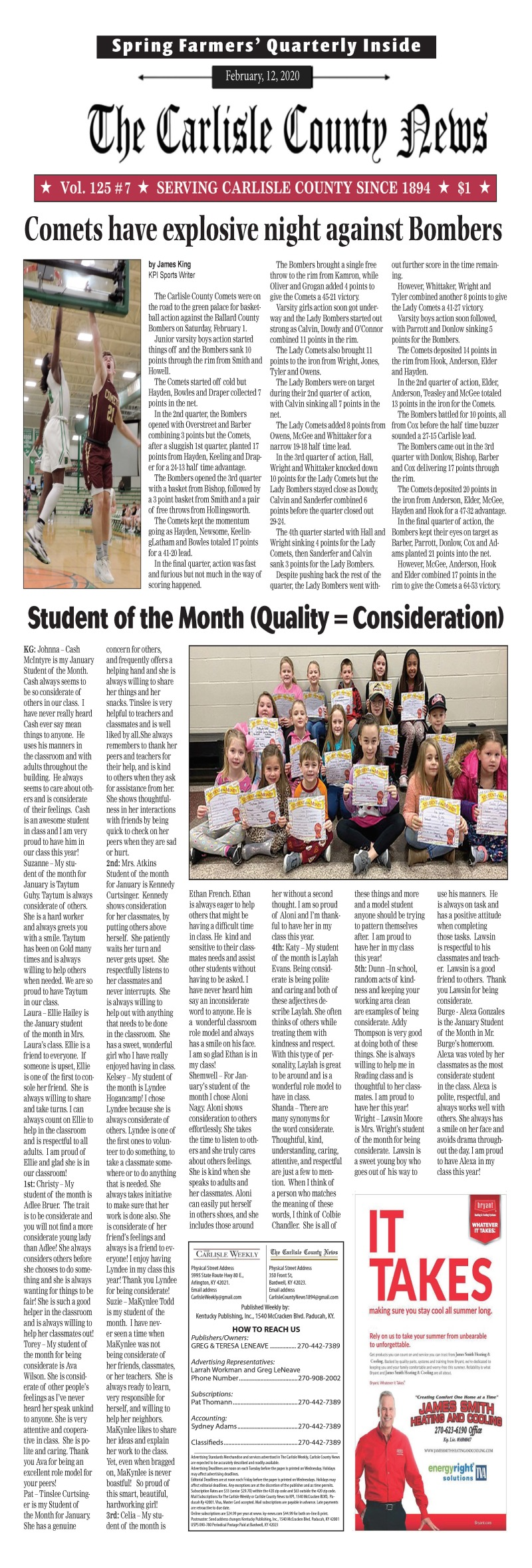 Carlisle County News  2-12-20