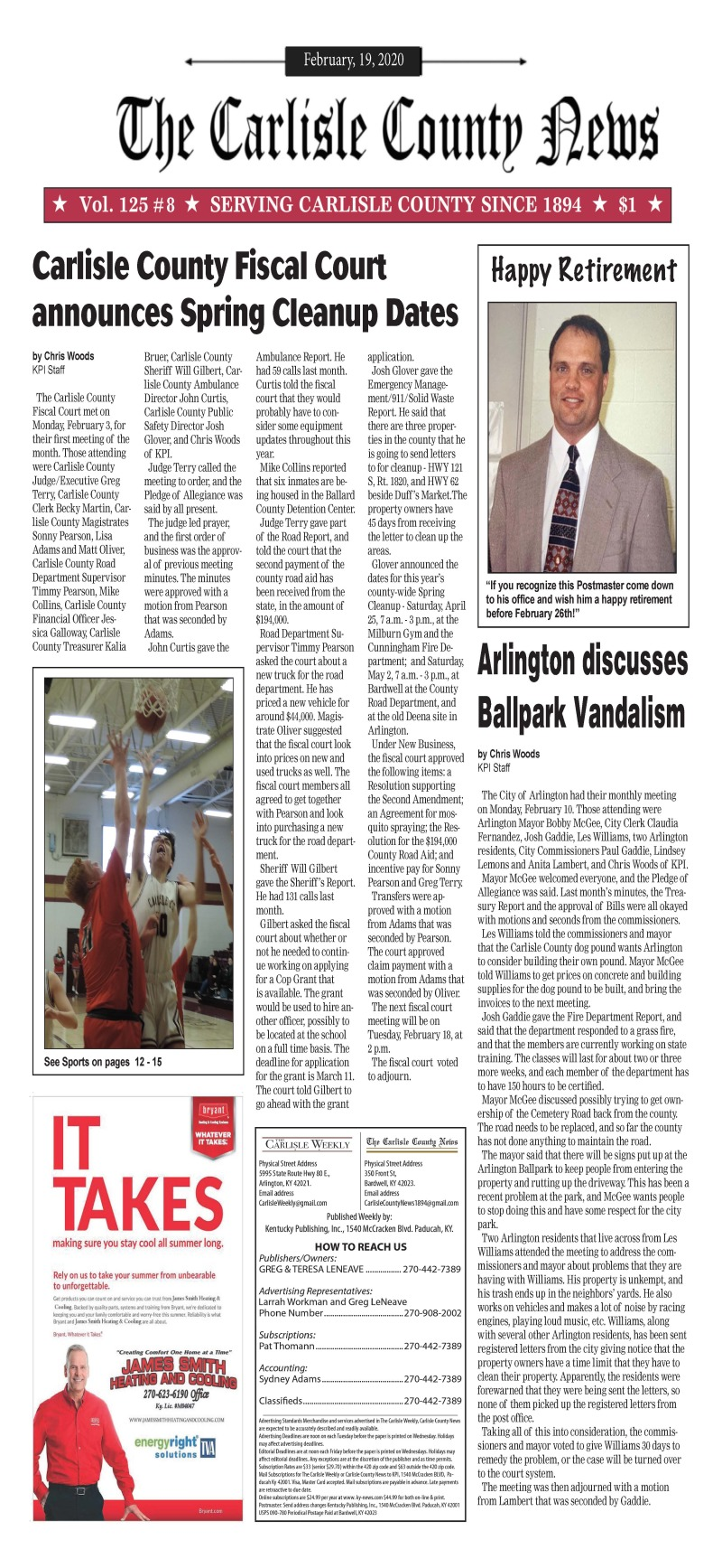Carlisle County News 2-18-20