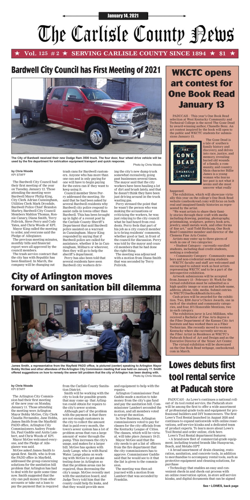 Carlisle County News 1-14-21