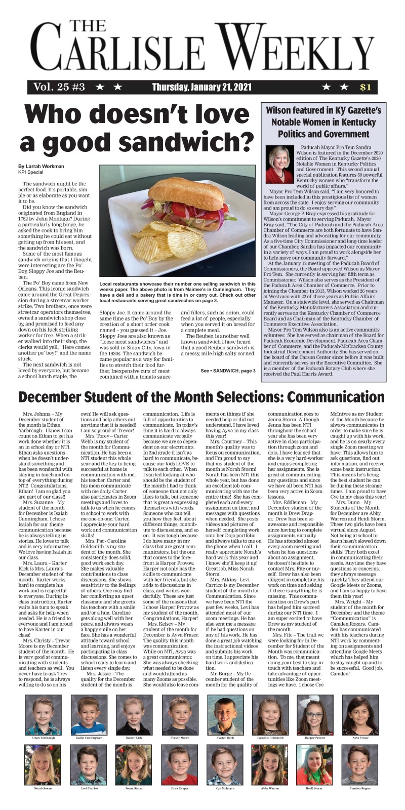 Carlisle County Weekly 1-21-21