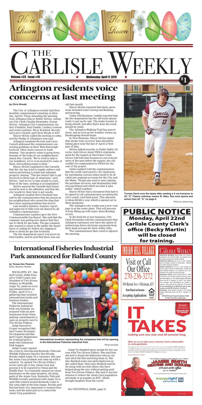 Carlisle County Weekly 4-17-19