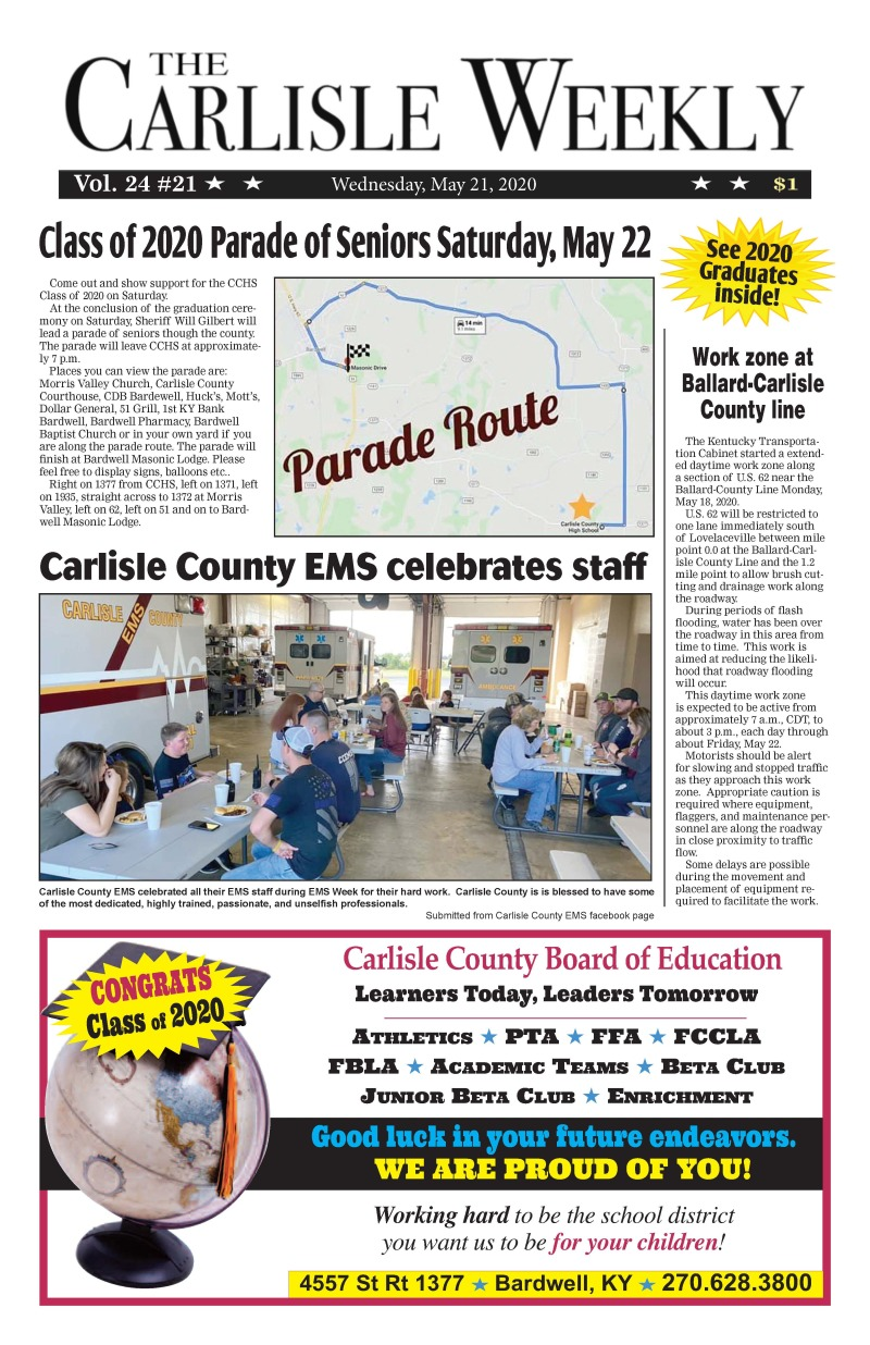The Carlisle Weekly 5-21-20
