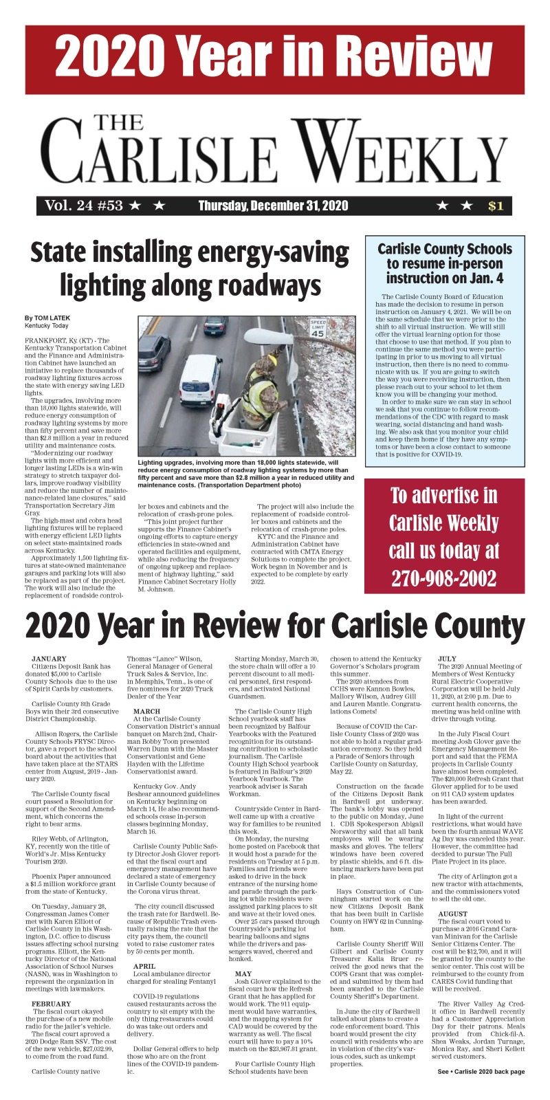 Carlisle County Weekly 12-31-20