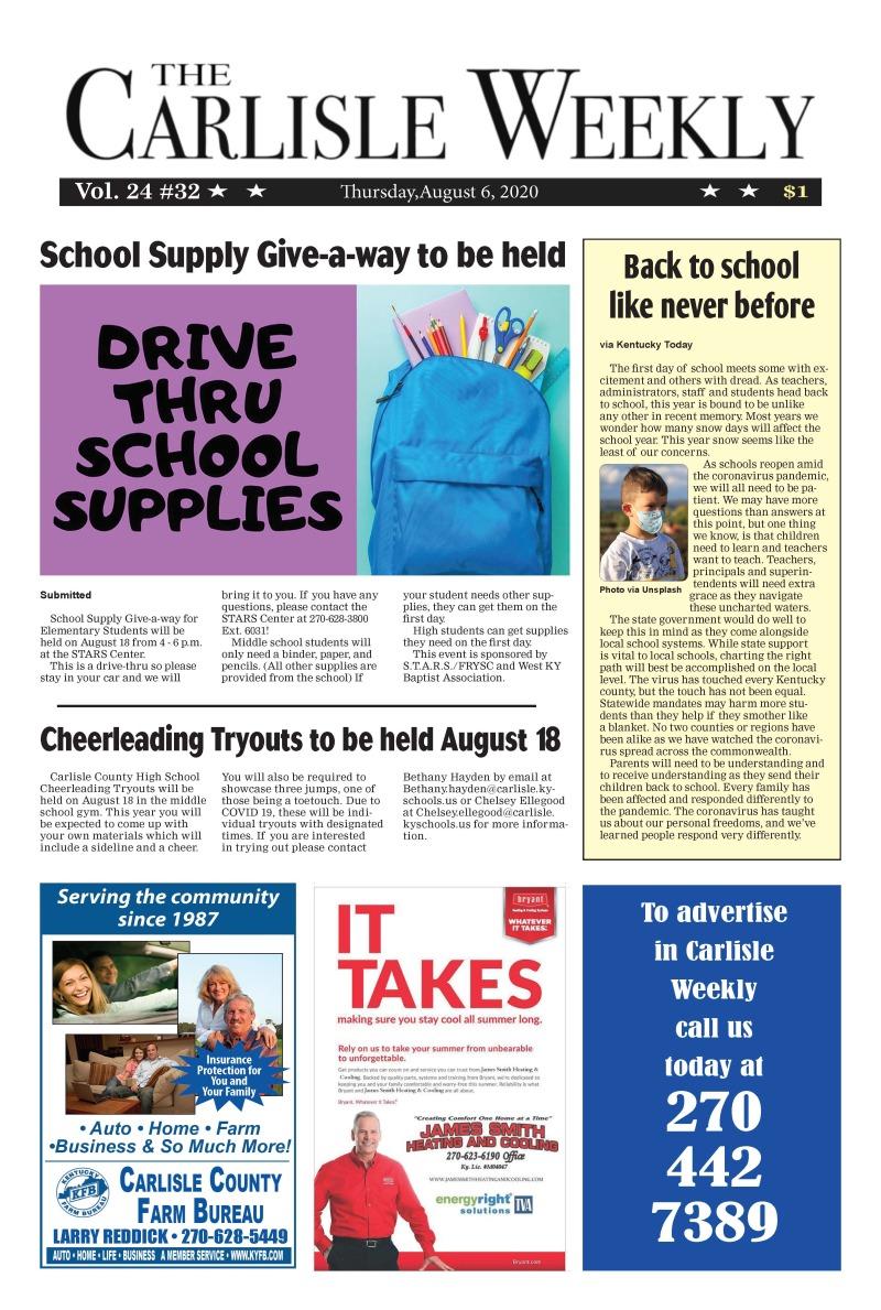 Carlisle County Weekly 8-6-20