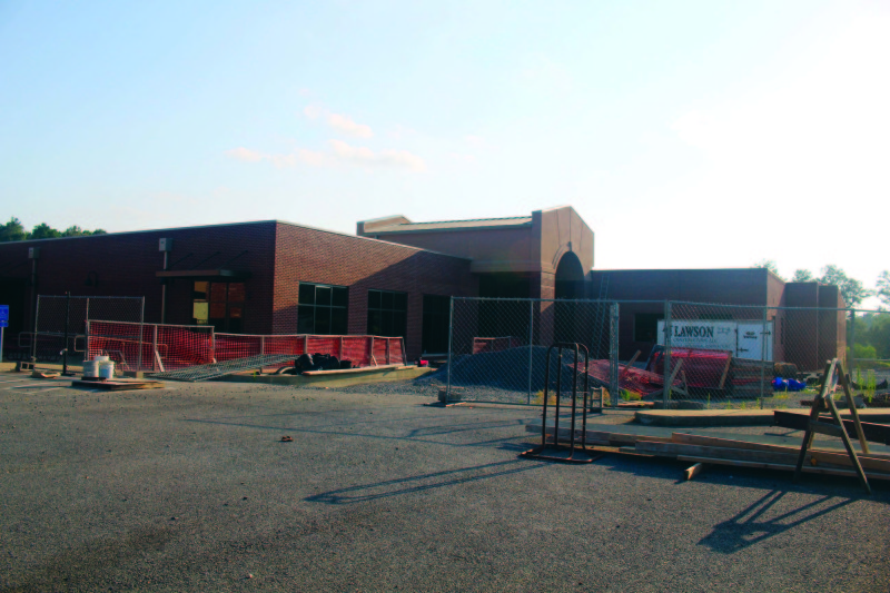 Carlisle Elementary School construction continues on schedule