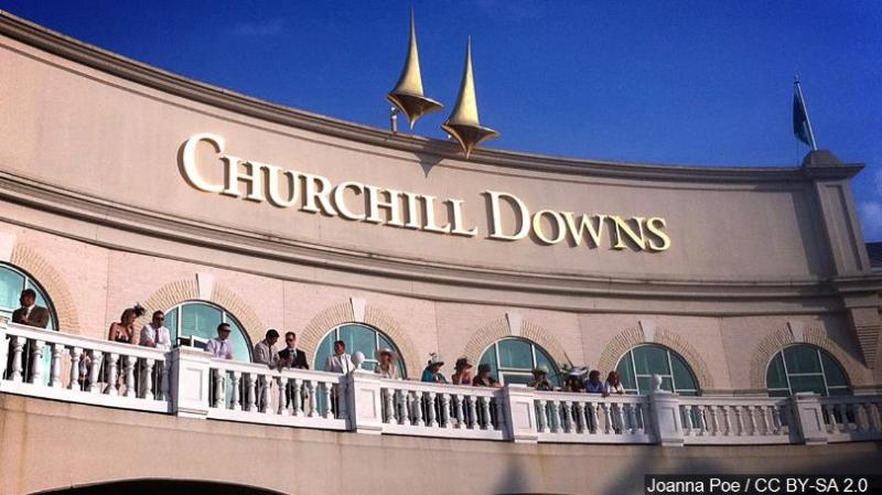 Churchill auction spots for people to run on its track