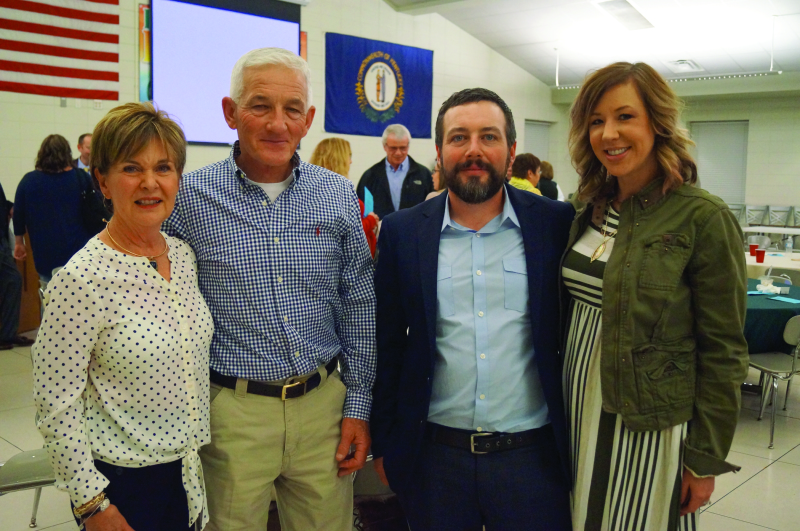 Annual Chamber Dinner held with local businesses honored