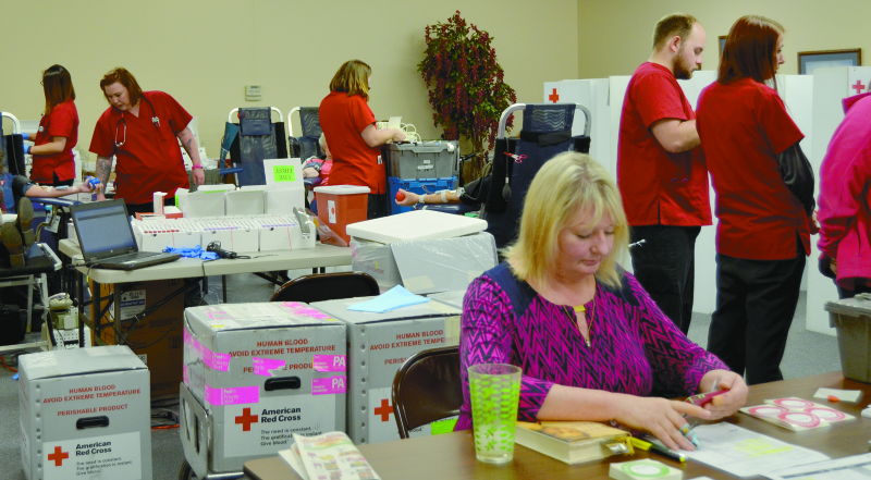 Hosting Blood Drive in Ballard County for 16 years