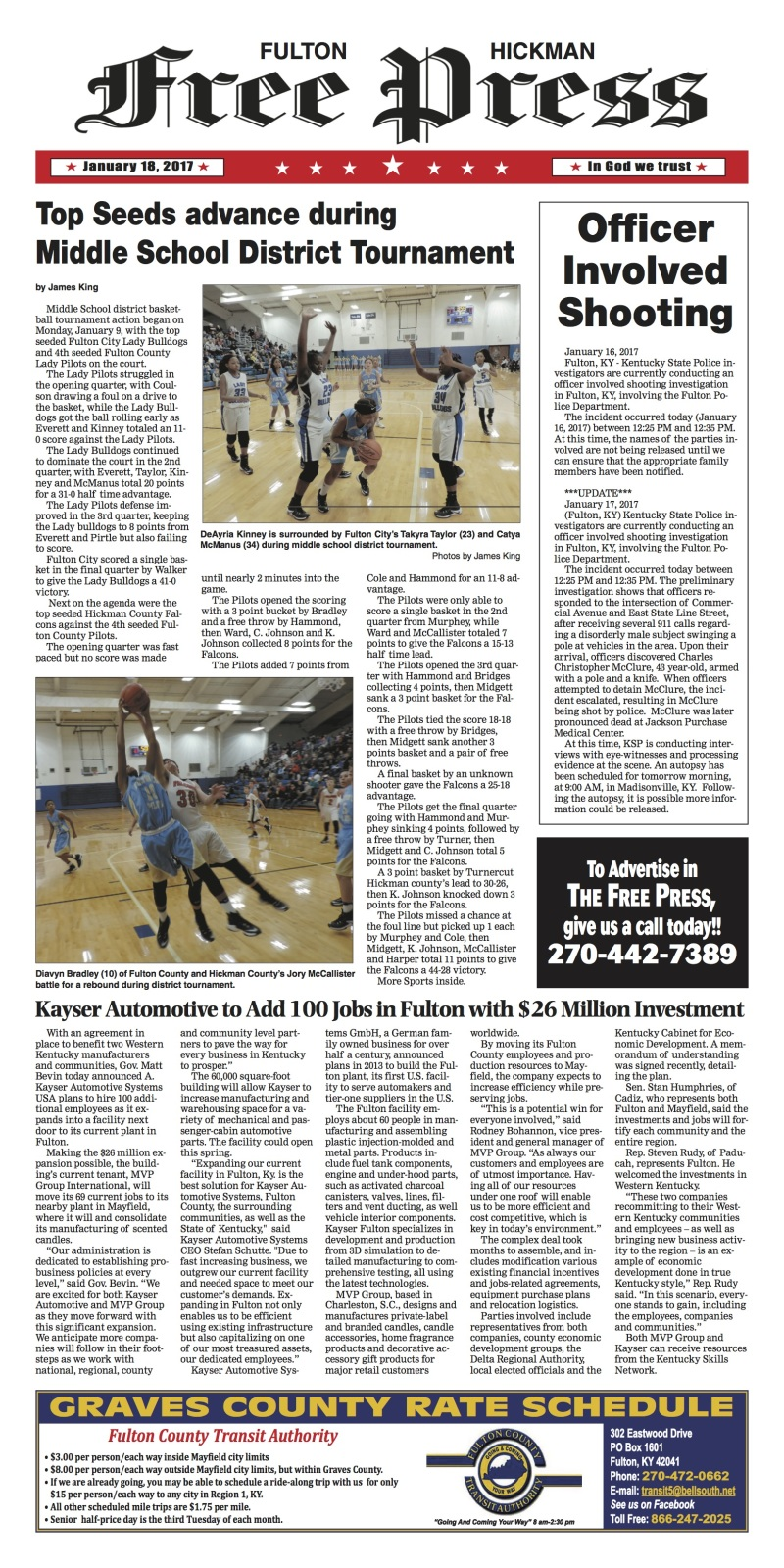 Fulton-Hickman Free Press 1-18-17