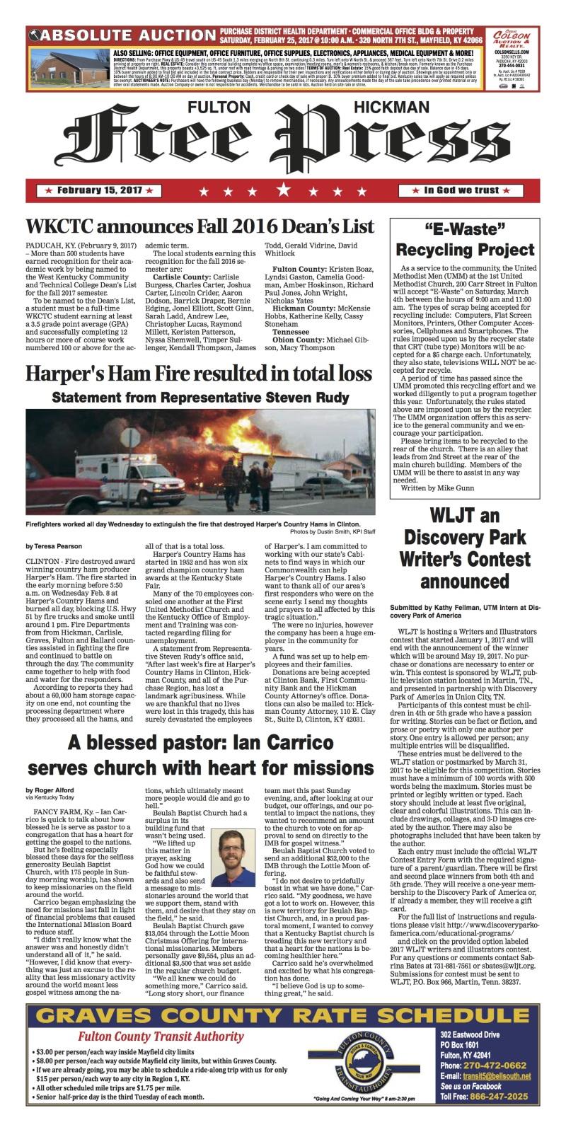Fulton-Hickman Free Press 2-15-17