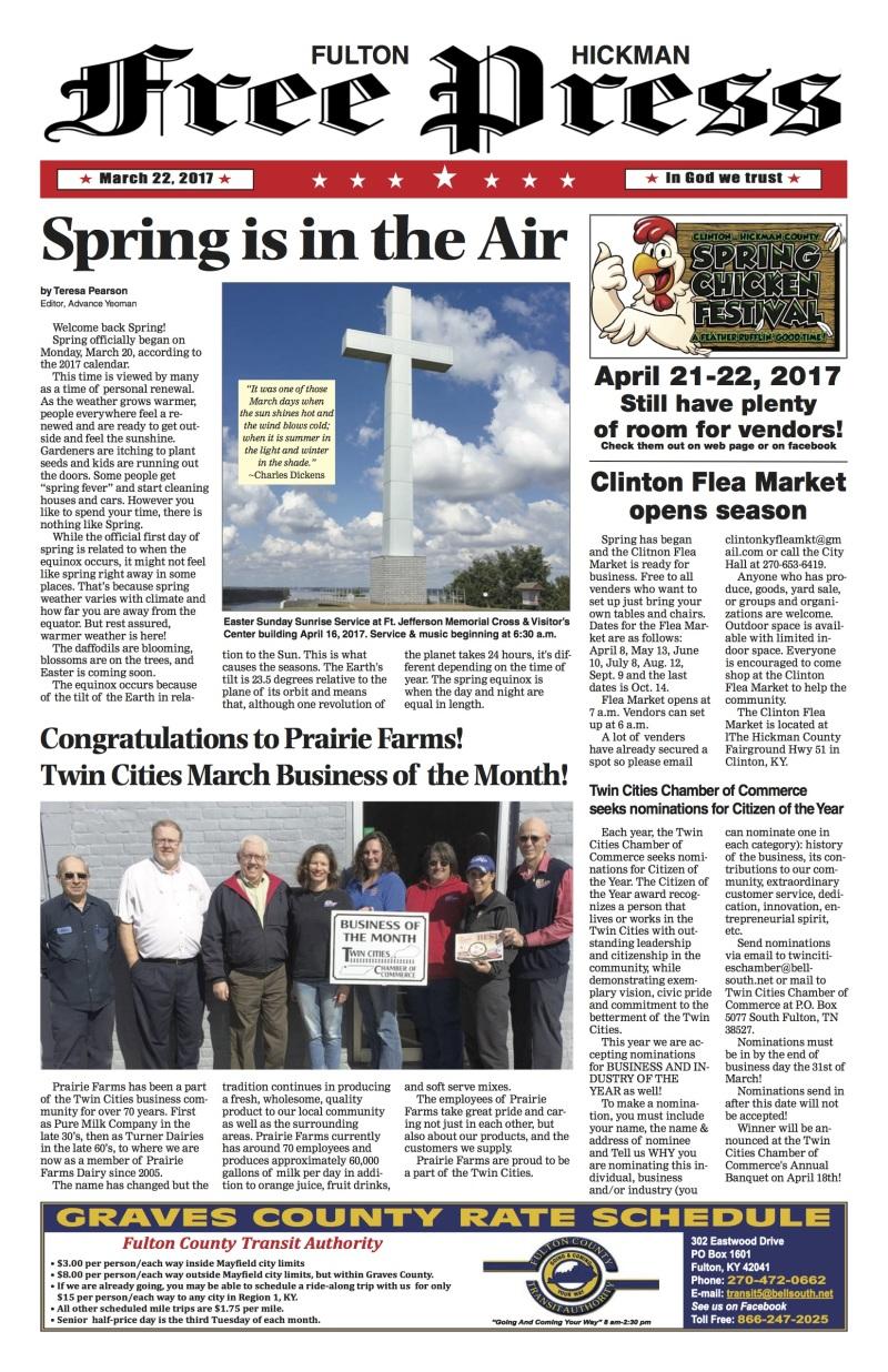Fulton-Hickman Free Press 3-22-17