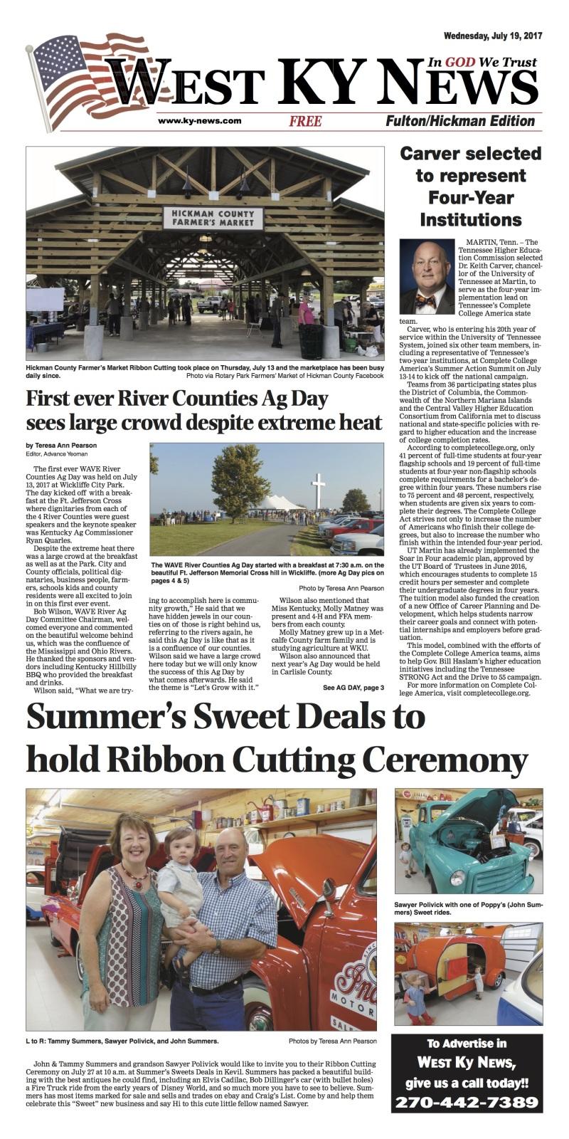 West Kentucky News-Fulton Hickman Edition 7-19-17