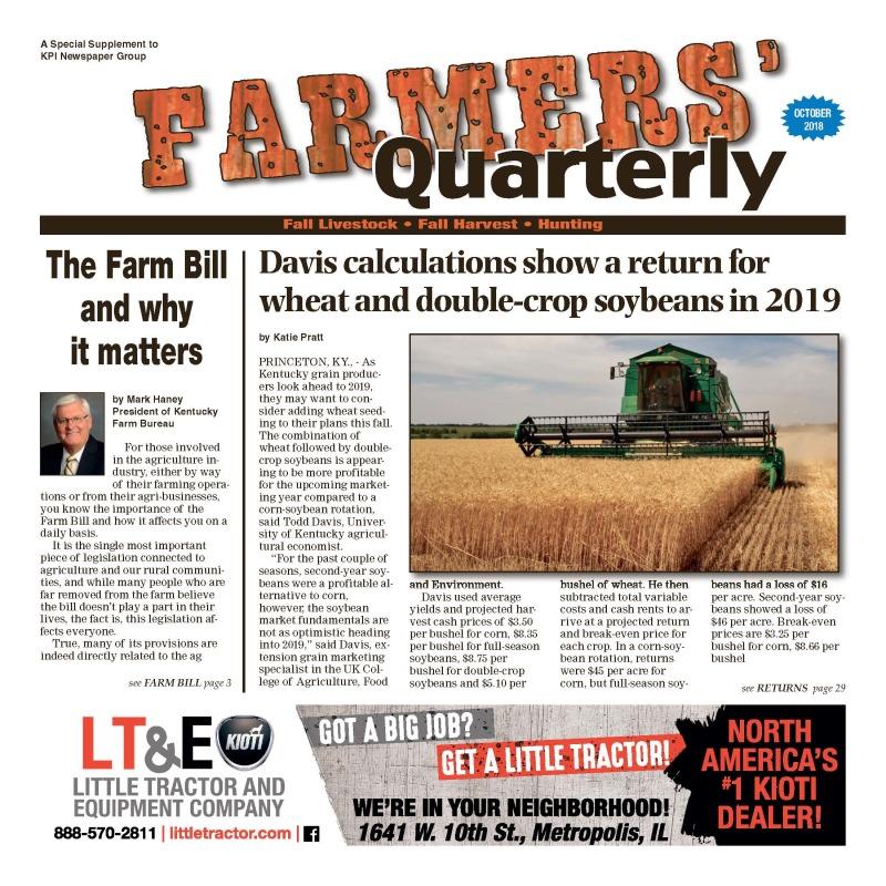Farmer's Quarterly October 2018