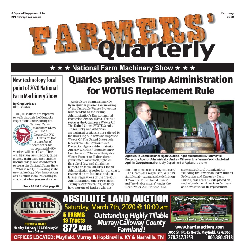 Farmers' Quarterly February 2020