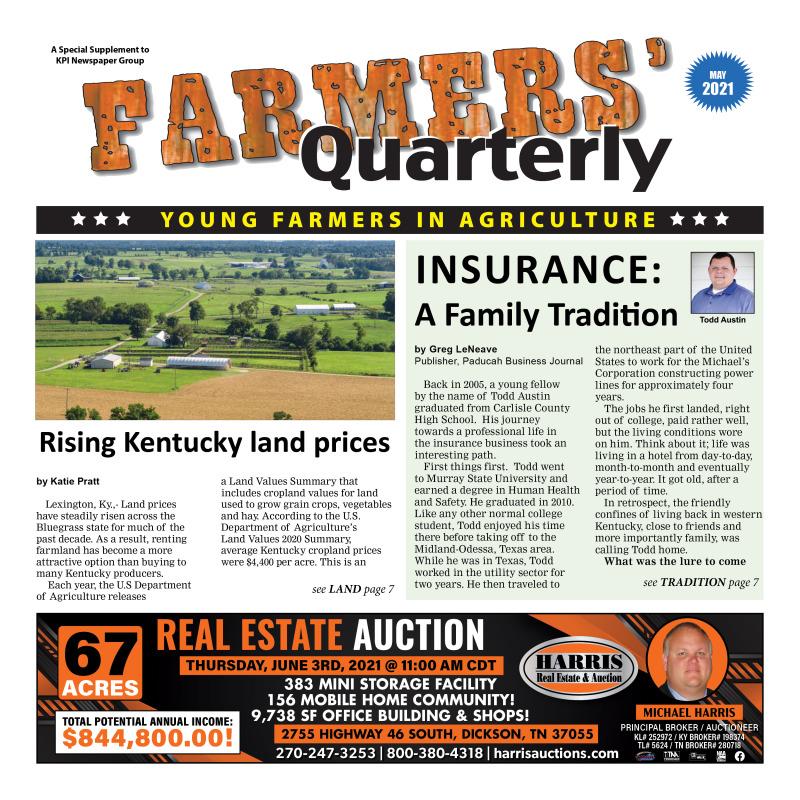 Farmers' Quarterly May 2021