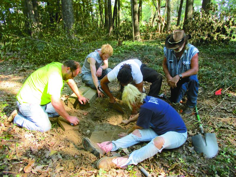 Cemetery Restoration in Western Kentucky