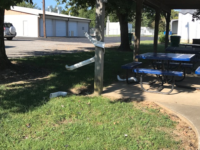 Francis Meredith Park in Barlow vandalized