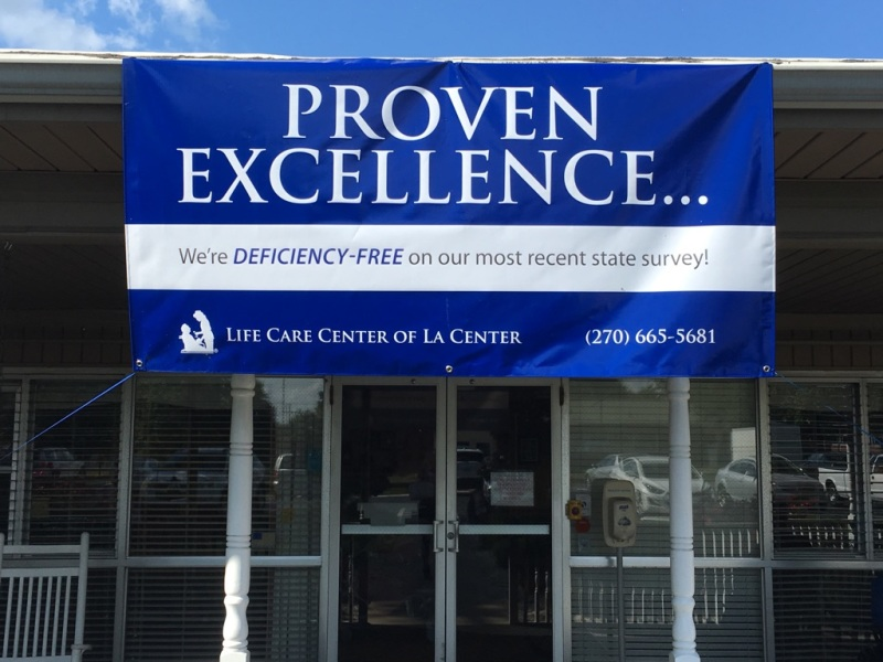 Life Care Center of La Center earns deficiency-free state survey | livingston ledger,memorial,county, residents,military