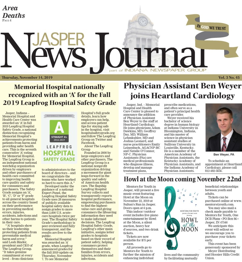 TheJasper News Journal 11-13-19