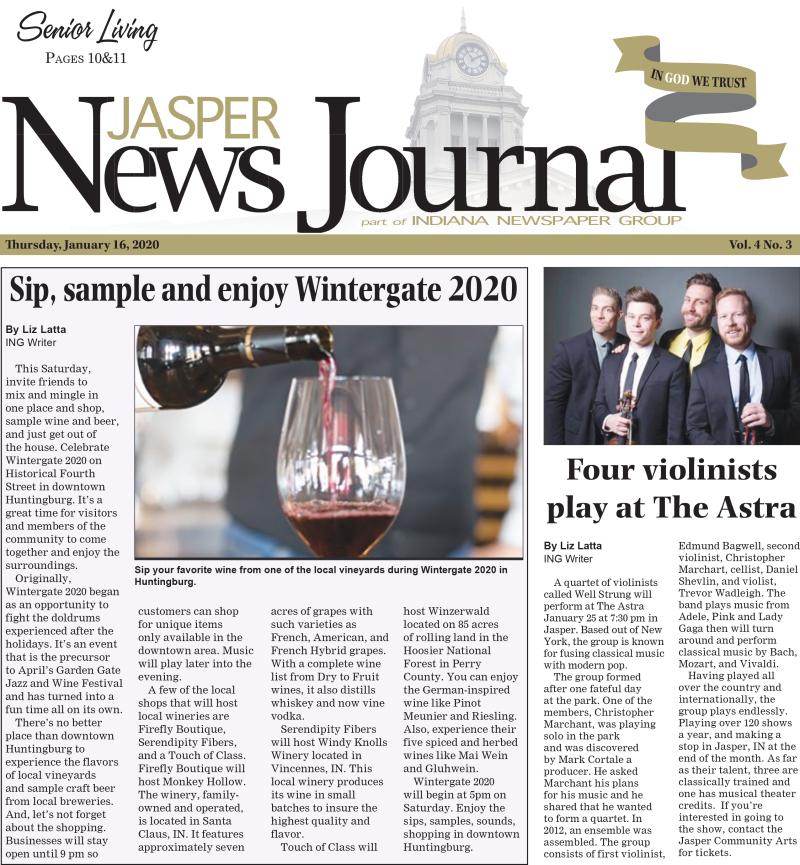 TheJasper News Journal 1-16-20