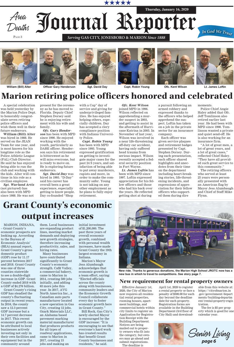 Journal Reporter 1-16-20