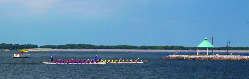 2nd Annual Grand Rivers Dragon Boat Races a great success
