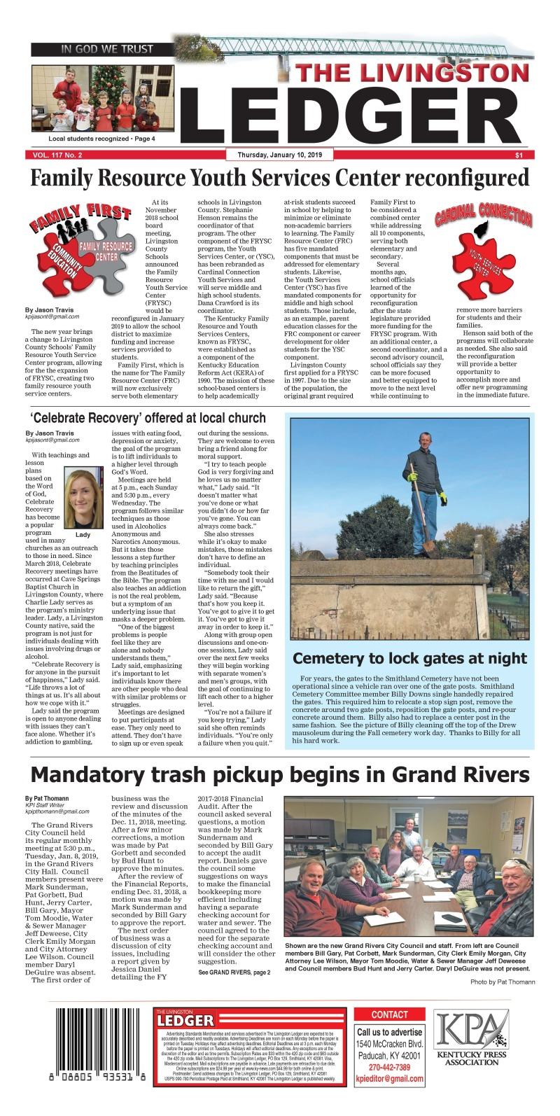 Livingston Ledger 1-10-19
